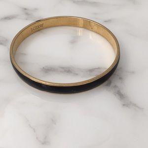 Black J. crew Bangle bracelet